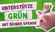 Spenden Sie für den grünen Wahlkampf!