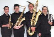 SAXOFONIA am 25. Oktober in Majers Weinscheuer. Foto: screenshot von saxofonia.de
